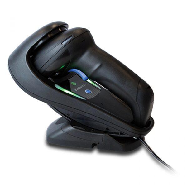 Cititor coduri de bare fara fir Datalogic Gryphon GBT4500, HD, 2D MP Imager, Negru