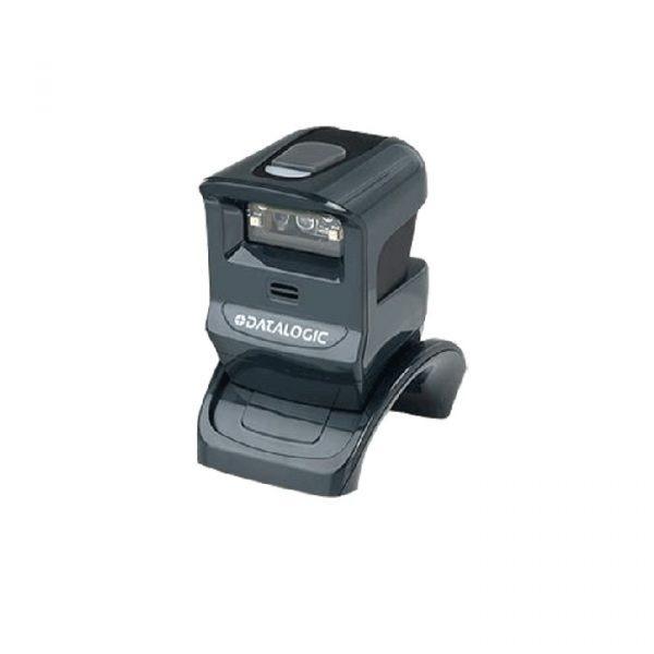 Cititor coduri de bare cu fir Hands-Free Datalogic GPS4400, 2D, USB Kit, Negru