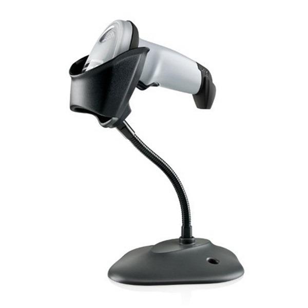 Cititor coduri de bare cu fir Zebra LI2208-SR White, STAND, USB KIT