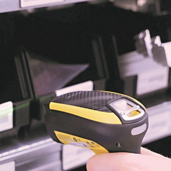 Cititor coduri de bare industriale fara fir Datalogic PowerScan PBT9100, Bluetooth, Linear Imager, Removable Battery