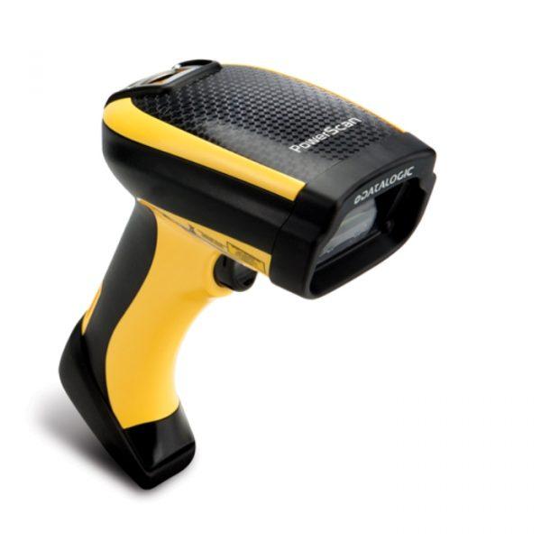 Cititor coduri de bare industriale fara fir Datalogic PowerScan PBT9501, Auto Range, USB Kit