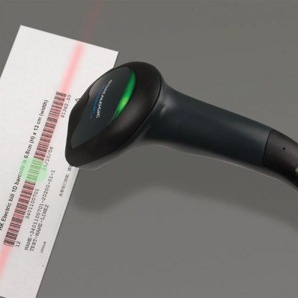 Cititor coduri de bare cu fir Datalogic QuickScan QW2120 Lite Imager, Negru, USB