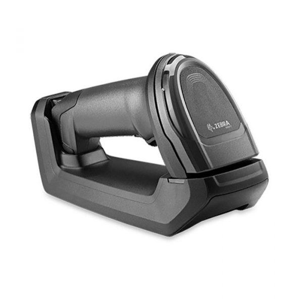 Cititor coduri de bare cu fir Zebra DS8108-SR Black, Stand, USB KIT