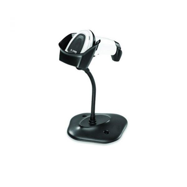 Cititor coduri de bare cu fir Zebra DS8108-SR White, Stand, USB KIT