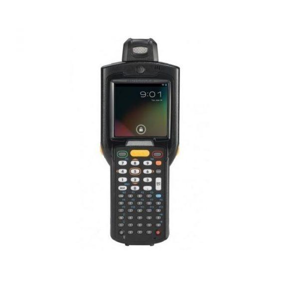 Terminal mobil Zebra MC3200, Pistol, 2D-SR, 48 taste, 1GHz, 512MB RAM/2GB FLASH, Wi-Fi, BT, 4800 mAh, senzori, Windows CE 7 PRO