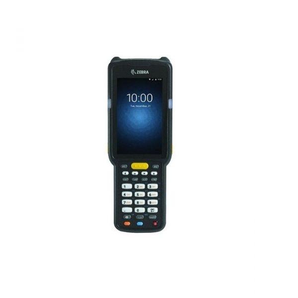 Terminal mobil Zebra MC3300, Premium, Pistol, 2D-LR, 29 taste, 1.8GHz, 4GB RAM/16GB FLASH, Wi-Fi, BT, NFC, 5200 mAh, senzori, Android 7.0 Nougat