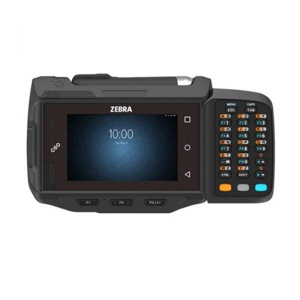 Terminal mobil Wearable Zebra WT6000, Wi-Fi, BT, 1GHz, 2GB RAM/8GB FLASH, 3350 mAh, Android Nougat 7.1