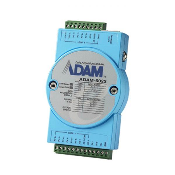 ADAM-6022-A1E (Ethernet-based Dual-loop PID Controller)
