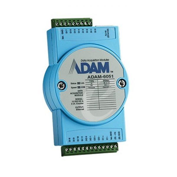 ADAM-6051-D (16-Ch Isolated DI/O w/Counter Module)
