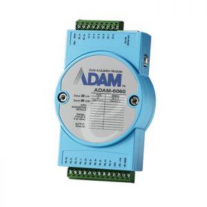 ADAM-6060-D (CIRCUIT MODULE, 6 Relay Output/6 DI Module)