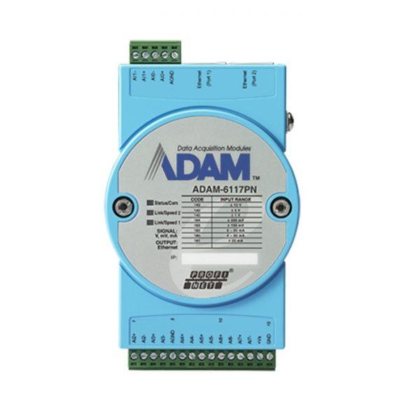ADAM-6117PN-AE (8-ch Isolated Analog Input PROFINET Module)