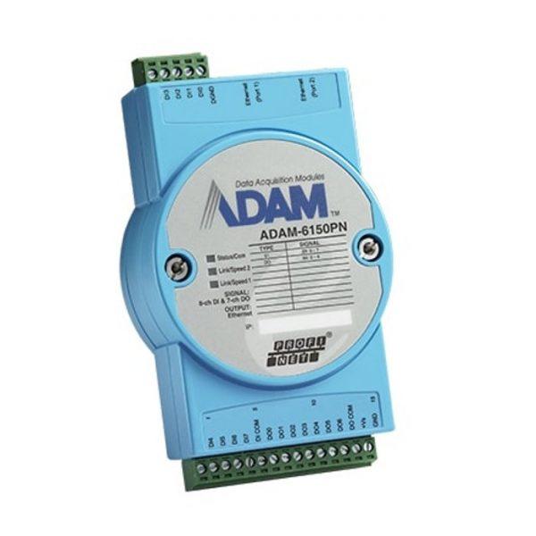 ADAM-6150PN-AE (15-ch Isolated Digital I/O PROFINET Module)