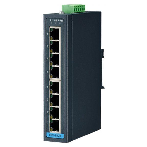 EKI-2528-BE (8FE 10/100 Unmanaged Ethernet Switch)