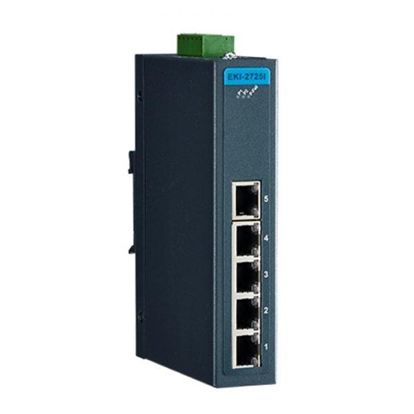 EKI-2725-CE (5GE 10/100/1000 Unmanaged Ethernet Switch)