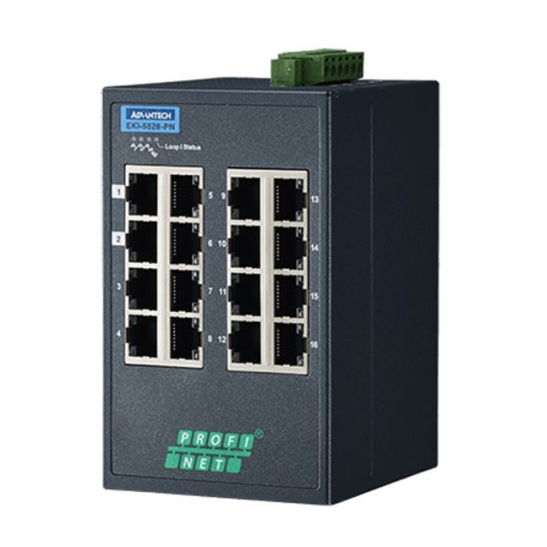 Advantech Managed Industrial Ethernet Switch
