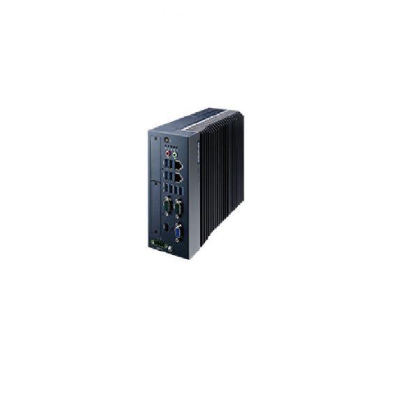 MIC-770H-00A1 (High performance fanless modular micro computer, i7-9700E 8core, 8GB RAM, 128GB SSD, 4xRS232, 8xUSB3.0, 2xRJ45, Windows 10 IoT Enterprise)