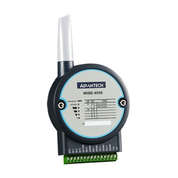 WISE-4050-AE (4-ch Digital Input and 4-ch Digital Output IoT Wireless I/O Module)