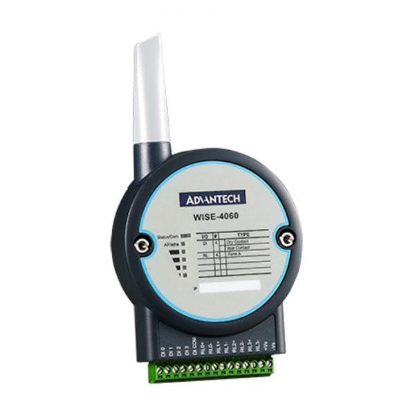 WISE-4060-AE (4-channel Digital Input and 4-ch Relay Output IoT Wireless I/O Module)