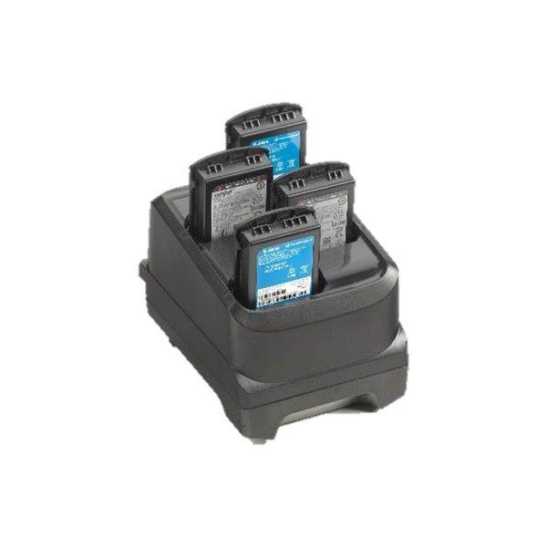 Suport incarcare cu 4 sloturi pentru bateriile Zebra MC32/MC33