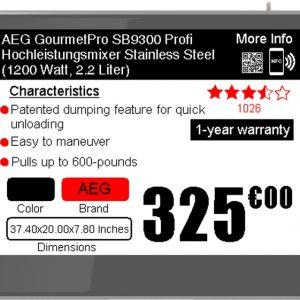 Eticheta elecronica SES-imagotag VUSION 4.2 BWR GL440 F/anthracite B/anthracite