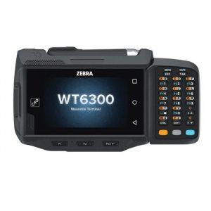 Terminal mobil Wearable Zebra WT6300, Tastatura, Wi-Fi, BT, USB, 2.2GHz, 3GB RAM/32GB FLASH, IP65, 5000 mAh, Android 10